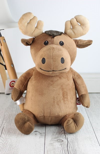 Personalised Teddy Bear - Moose Cubbie