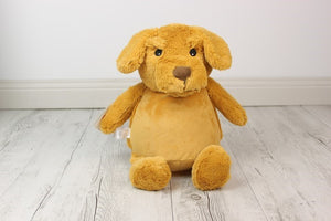 Personalised Teddy Bear - Dog Cubbie