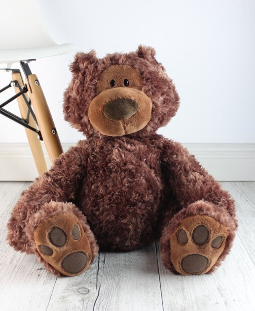 Personalised Teddie - Philbin Brown Teddy - Teddie & Lane