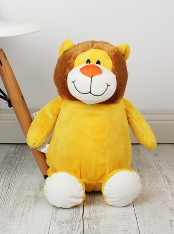 Personalised Teddy Bear - Lion Cubbie