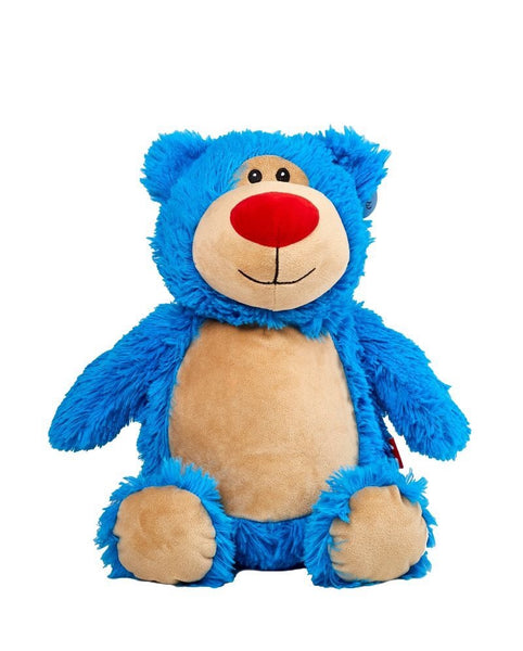Personalised Teddy Bear - BBlue Cubbyford Bear Cubbie - 40cm