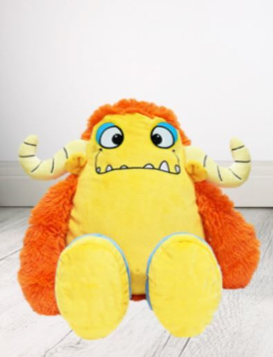 Personalised Teddy Bear - Marmalade Monster