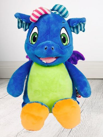 Personalised Teddy Bear - Dino Dragon