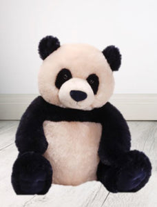 Personalised Teddy -  PANDA Zibo - W/T-Shirt  43CM