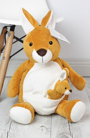 Personalised Teddy Bear - Kangaroo Teddy Buddy  - 40cm