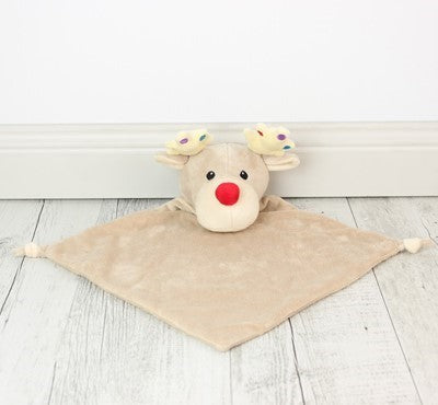 Safety Blankets Reindeer - Teddie & Lane