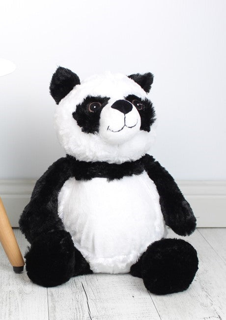 Personalised Teddy Bear - Peyton Panda Embroider Bear