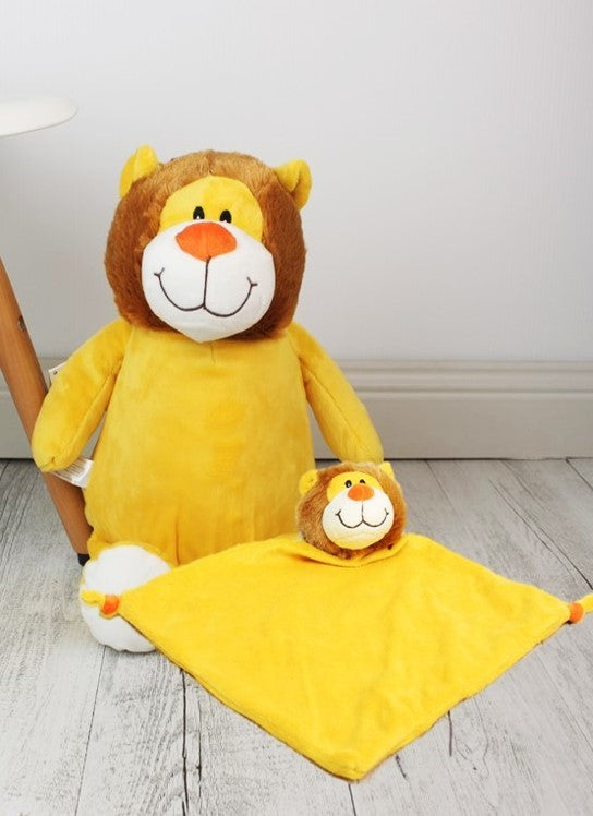 Personalised Teddy Bear - Lion Cubbie / Snuggle