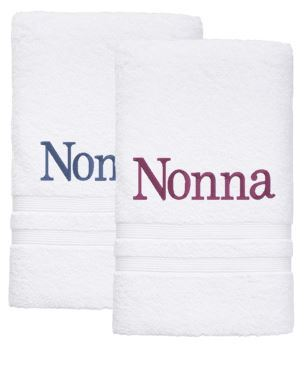 Personalised Towel - 2 Bath Sheet Towels