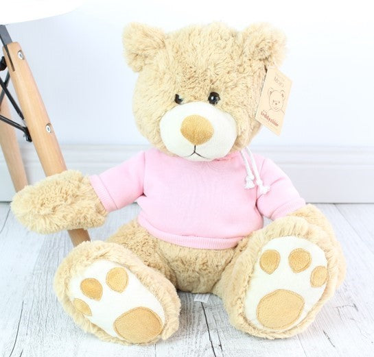Personalised Teddy - Mojo Cream w/Jumper - 45cm