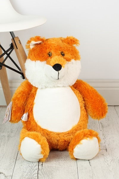 Personalised Teddy Bear - Herberts Sneakalot The FOX Cubbie - 40cm