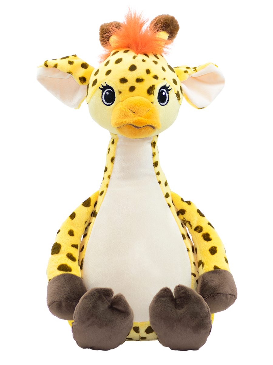 Personalised Teddy Bear - Giraffe Cubbie - 40cm