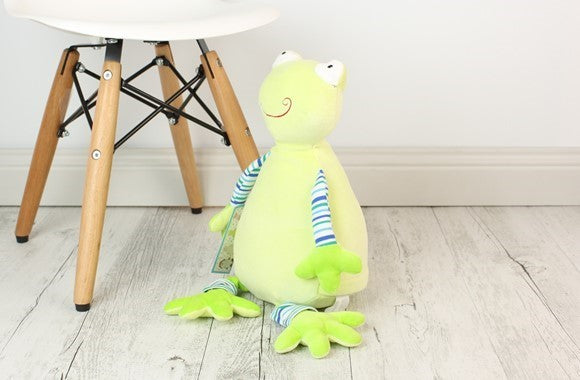Personalised Teddy Bear - Oeko Frog Cubbie - 30cm
