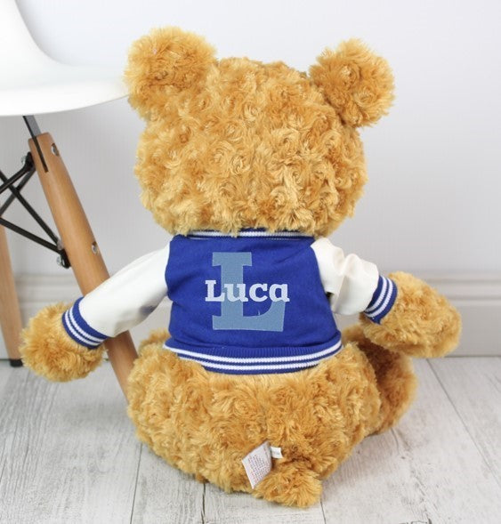 Personalised Teddy - Flynn w/VARSITY JACKET - 46cm