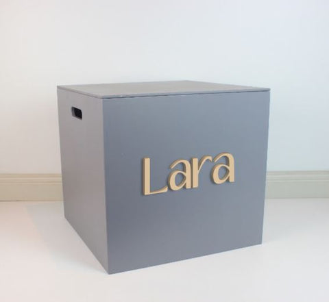 GREY Grand Box 40cm - Teddie & Lane