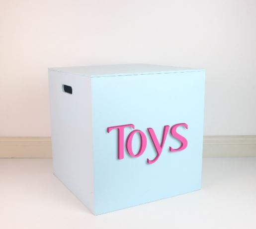 LIGHT BLUE Mini Box 25cm