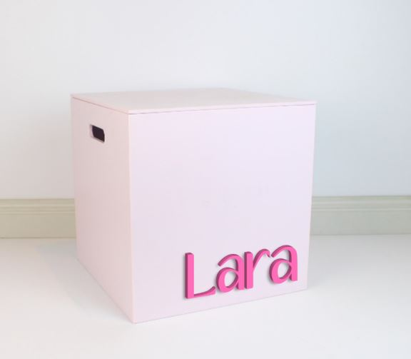 LIGHT PINK Grand Box 40cm - Teddie & Lane