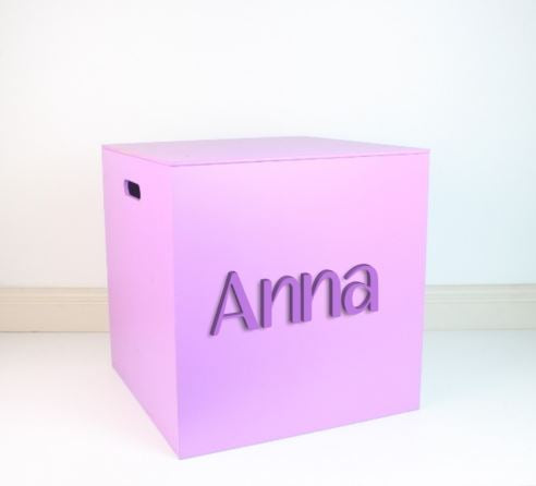 LIGHT PURPLE Mid Box 35cm