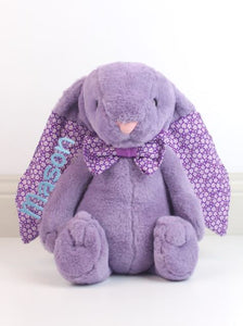Popsi Purple Lila Bunny - LIMITED EDITION - Teddie & Lane