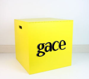 YELLOW Grand Box 40cm - Teddie & Lane