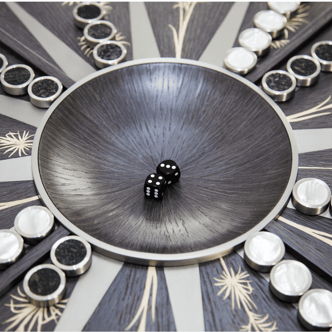 PALM BACKGAMMON TABLE