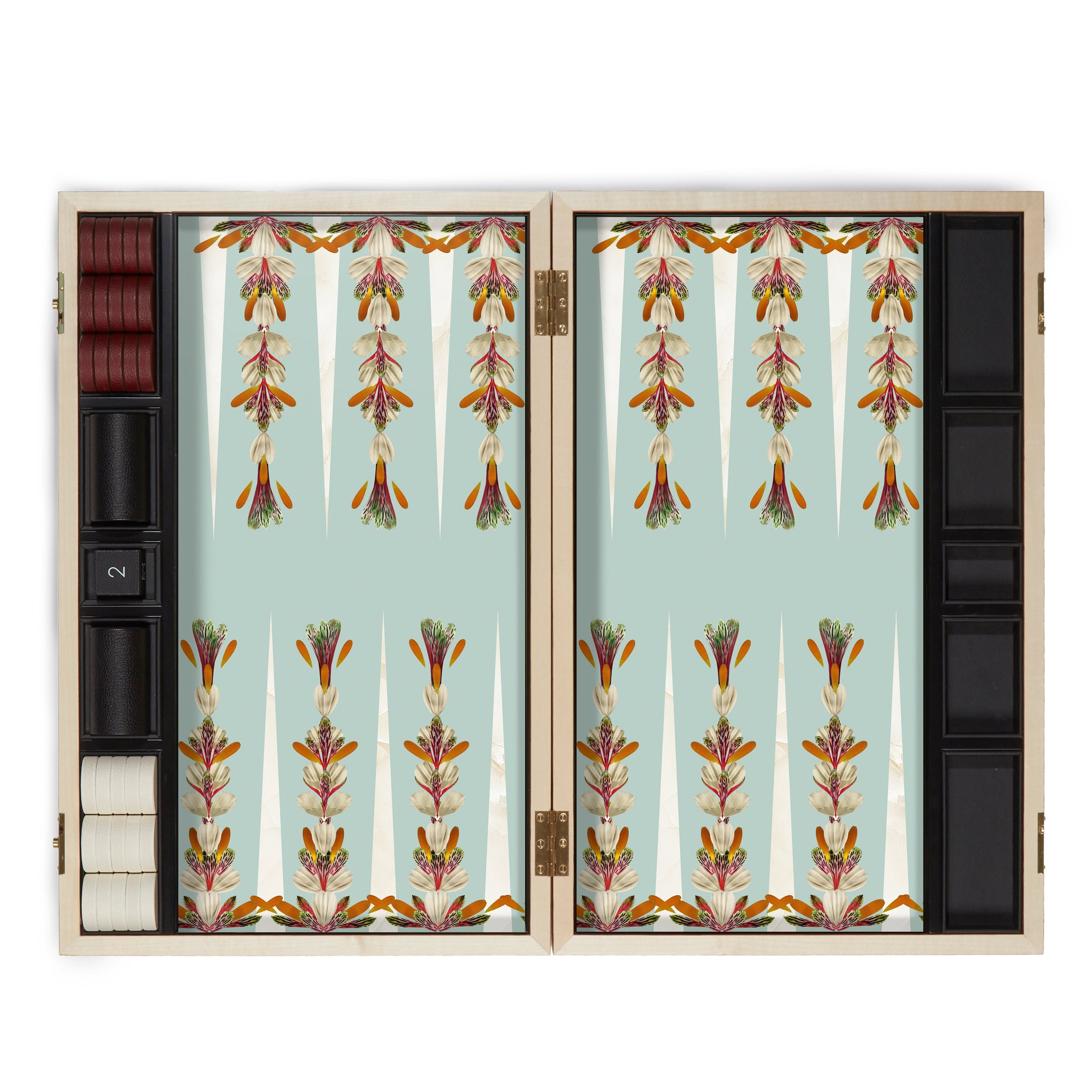 Petals Backgammon Set