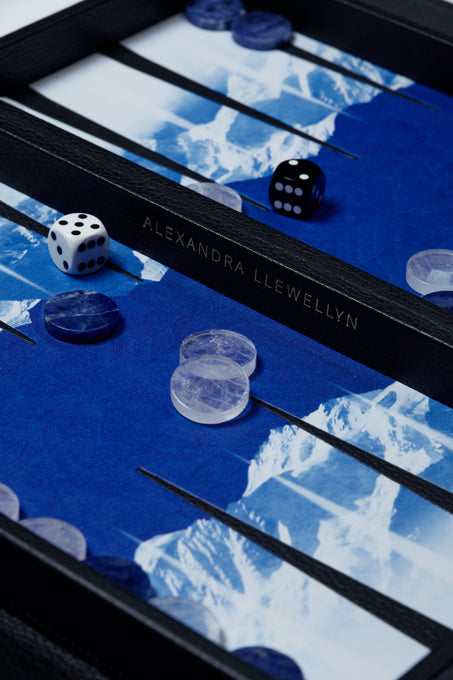 Glacier Travel Backgammon Set