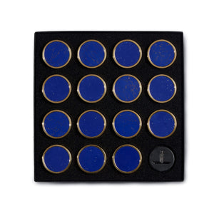 Lapis Blue Stone Playing Pieces