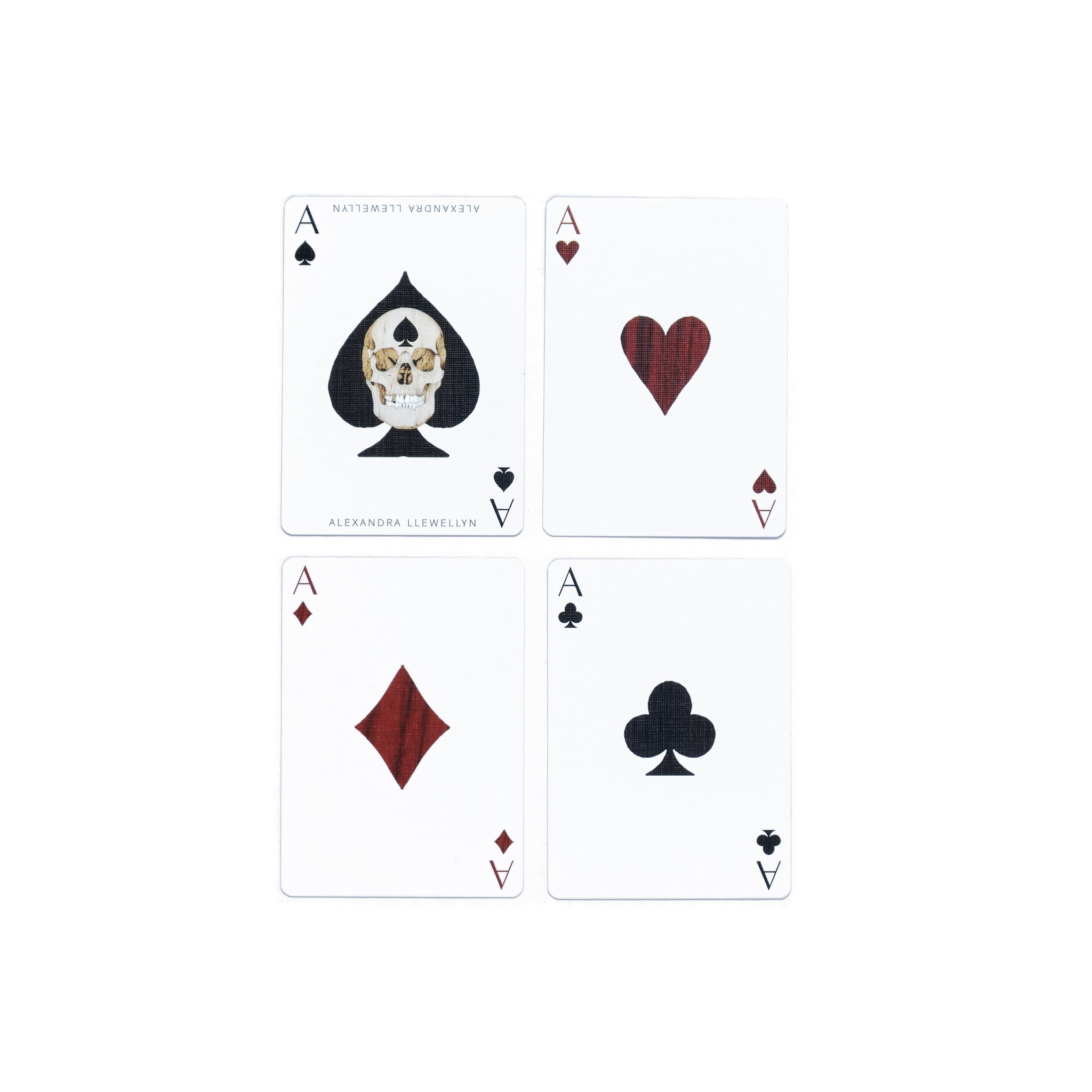Signature Playing Cards | Burgundy