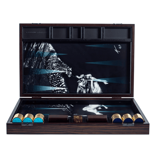 Wild Aid Backgammon Set