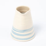Cream Pourer - Cornish Blue Stripe