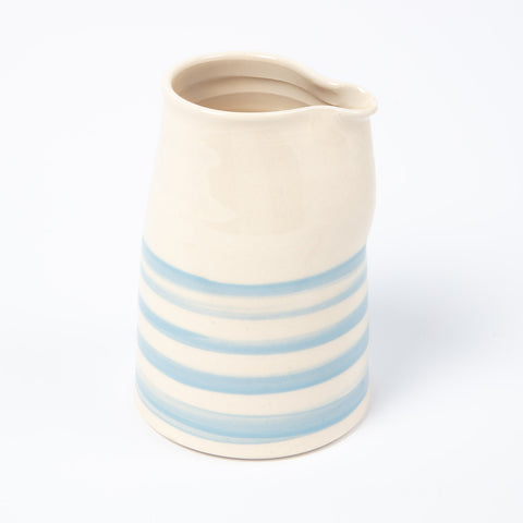 Milk Pourer - Cornish Blue Stripe