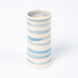 Posy Vase - Cornish Blue Stripe