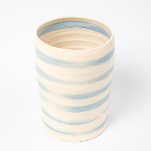 Bouquet Vase - Cornish Blue Stripe