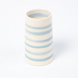 Cylinder Vase - Cornish Blue Stripe