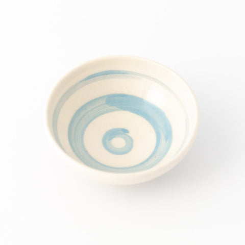 Salt Bowl - Cornish Blue Stripe