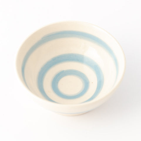Cereal Bowl - Cornish Blue Stripe