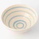 Pasta Bowl - Cornish Blue Stripe