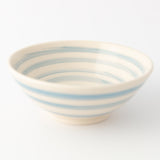 Dipping Bowl - Cornish Blue Stripe