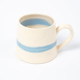 Mug - Cornish Blue Stripe