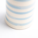 Stem Vase - Cornish Blue Stripe