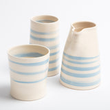 Beaker - Cornish Blue Stripe