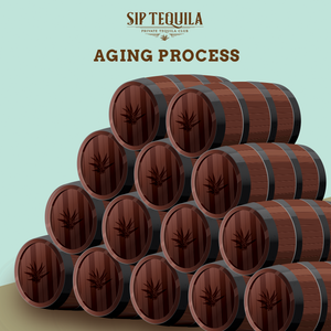 Tequila Aging Process