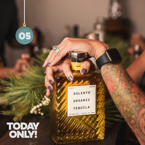 EXPIRED: Buy any 3 bottles of Solento Organic Tequila, get a bottle of Blanco FREE