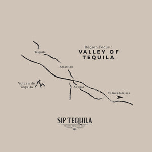 Valley of Tequila Map