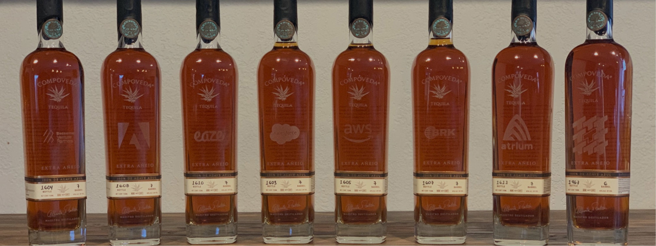 Custom Etched Tequila Bottles