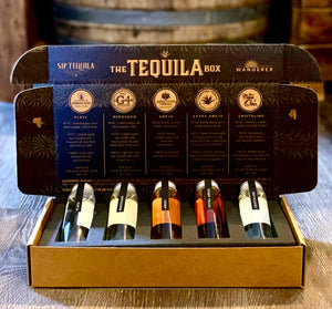 The Tequila Box - Tasting Set