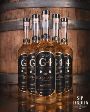 G4 Extra Anejo 5 Year Case (6 Bottles)