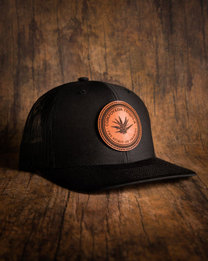 Compoveda Leather Patch Snapback