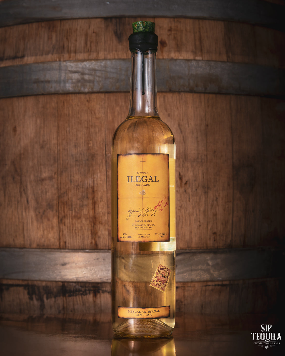 Ilegal Mezcal Reposado
